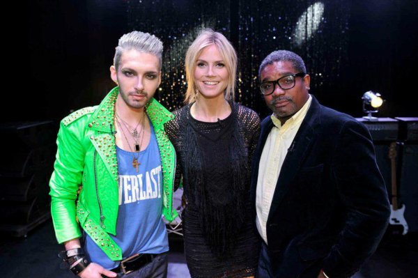 "Bill Kaulitz dans ""Germany's Next Topmodel"" (10.02.12)"