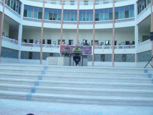 حضور جمعية كسبرطا للتنمية البشرية في  فعاليات الإحتفال بمناسبة نهاية الموسم الدراسي بالمركز الإجتماعي  -- روابط الصداقة - بحي البرواقة   طنجة