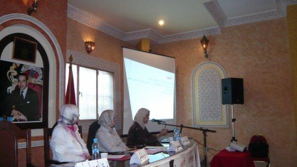 اليوم التواصلي الجمعوي الأول حول  دور المجتمع المدني في النهوض بالمرأة  أساس كل مسار تنموي و حضاري   تحت شعار   جميعا من أجل  المرأة