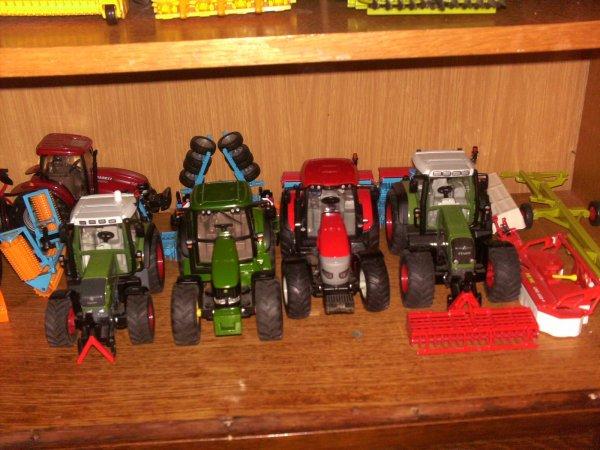 mes tracteurs