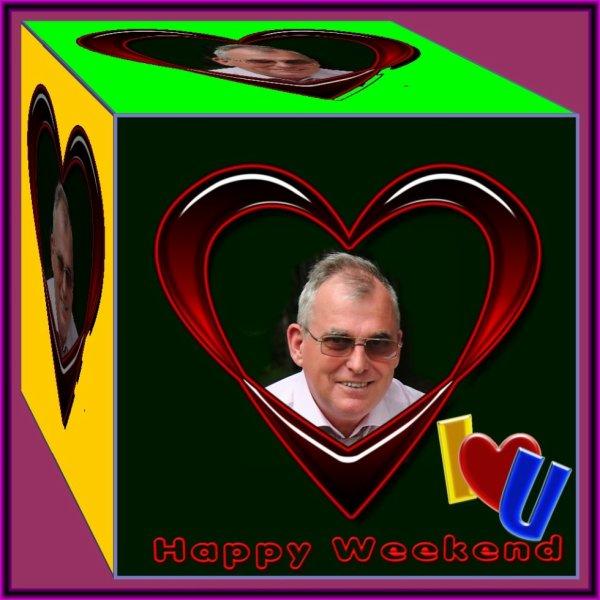 Bon Weekend  Gros bisous mon ami !