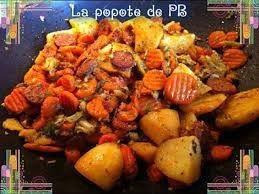 wok brocoli pommes de terre chorizo