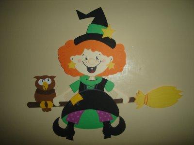 une créa d'Halloween, moi je l'adore et vous????