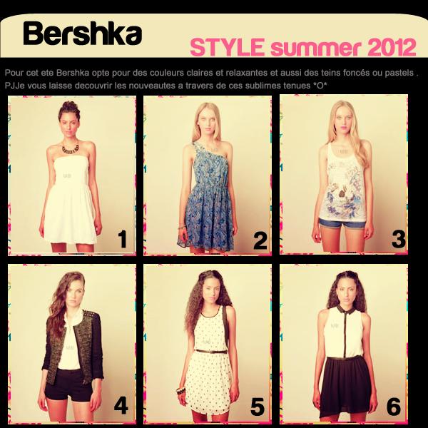 Bershka Style summer 2012