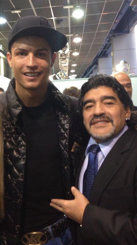 Ronaldo & Maradona