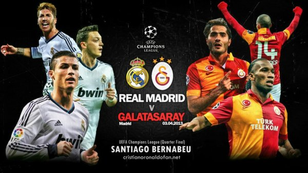 Demain a 20h45 : Réal Madrid - Galatasaray
