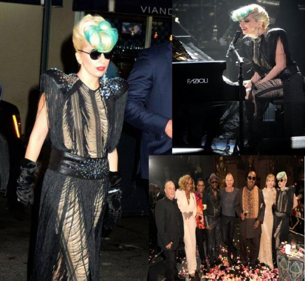 Lady Gaga and Sting
