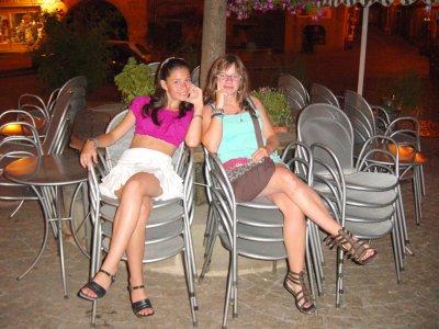 moi et Aurélie
