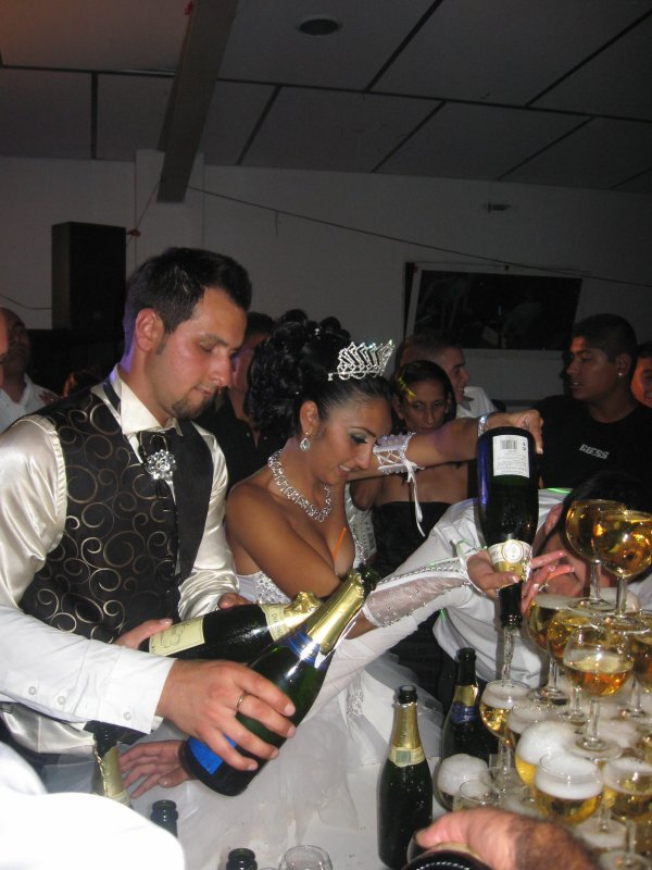 salia pour son mariage