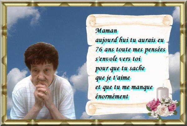 Petit Montage Pour Ton Anniversaire Maman Blog De Patordiman