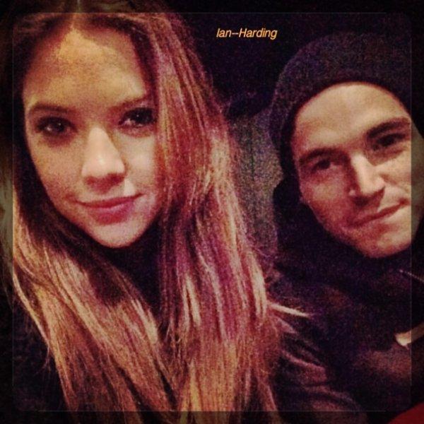 Ian avec Ashley Benson