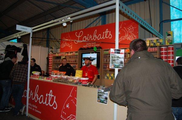 Le stand Loirbaits au salon de montluçon 2012