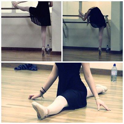 Danser jusqu'à mon dernier souffle.