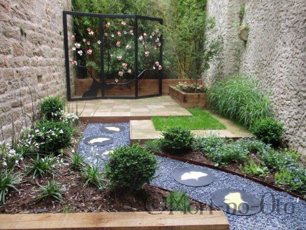 Petit Jardin Hanami à Vannes.