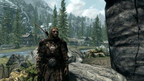 Nouveau Personnage sur Skyrim : Aetyr, Elfe des Bois.