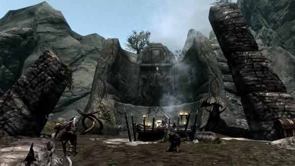 Parjures, Sauvages de la Crevasse. (Skyrim)