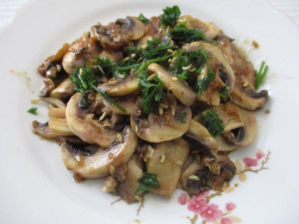 Mes délicieux champignons !