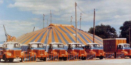 Mon arrivé au cirque.