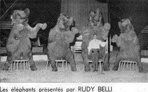 Première partie du spectacle 1970.