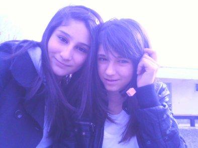 Carla et moi ... ! Je t'aimeeee la meilleure ... !