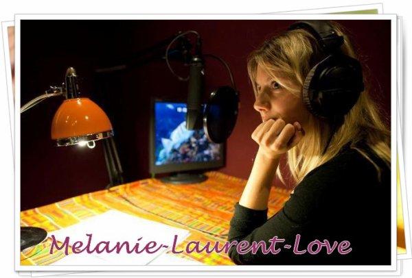 Des nouveautés pour Mélanie :)