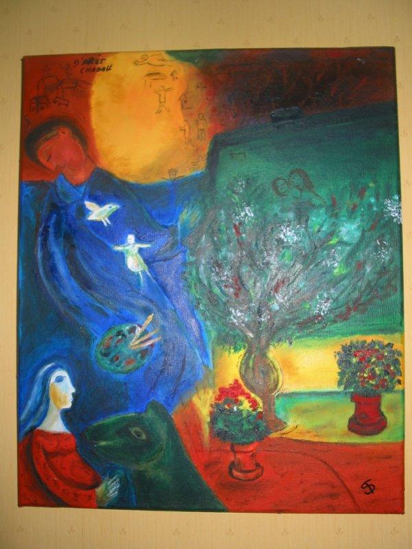 d'après Chagall