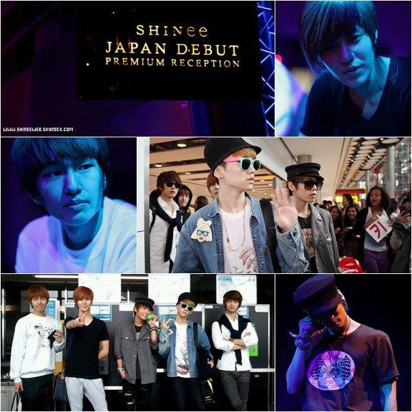 . 19 juin 2011 | Les garçons à Londres pour leur live au Abbey Road Studios. Les SHINee sont d'ailleurs le premier groupe asiatique à performer là-bas ! .