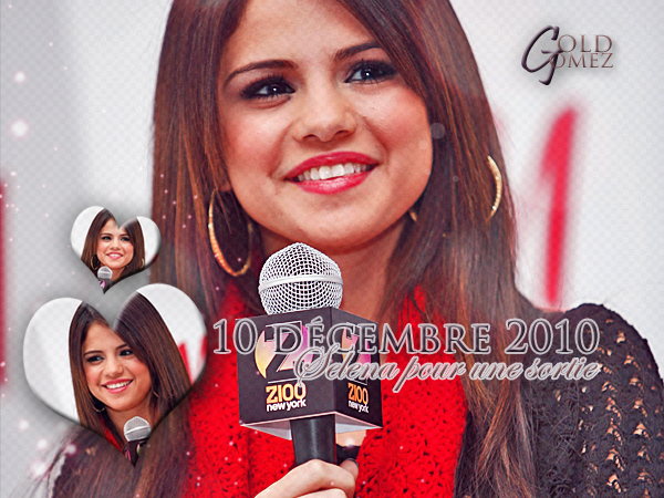 . É V É N E M E N T  ☆10 Décembre 2010 ♦ Z100's Jingle Ball 2010 Presented by H&M  .