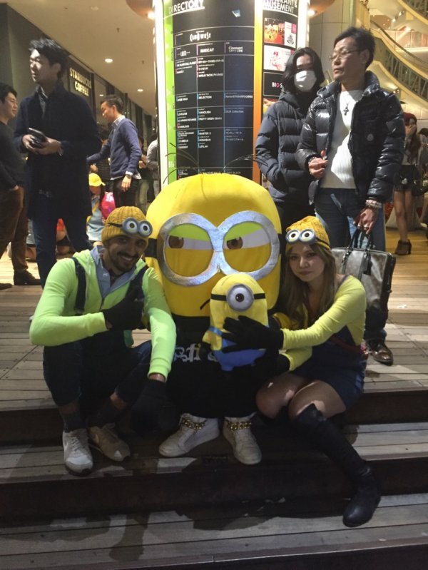 Happy Halloween in Osaka Japan