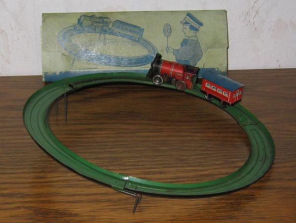 TECHNOFIX- circuit N° 230 de 1936 - Nom : chemin de fer en montant