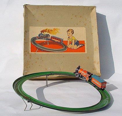 TECHNOFIX- circuit N° 232 de 1937 - Nom : chemin de fer en montant