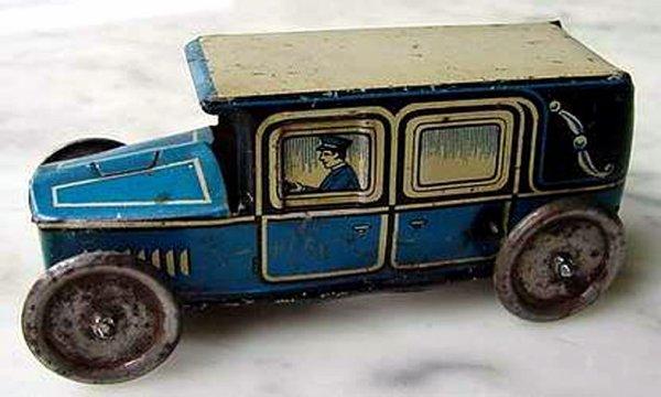 Utilitaire N° 1930 De Jouet 184 Camion Technofix exoBdC