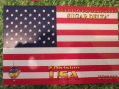 CONFIRMATION QSL AVEC 2SD215 PAUL SUR LES ETATS UNIS (NEW YORK)