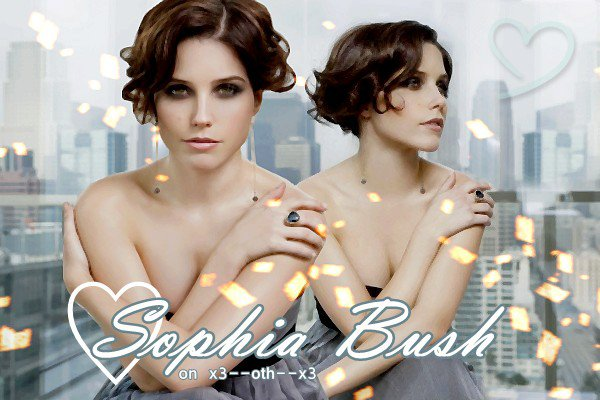 Sophia Bush----------------------------------------------------------------------------------------------------------------------Brooke Davis