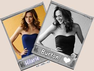 Hilarie Burton ----------------------------------------------------------------------------------------------------------------- Peyton Sawyer