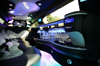 limousines-et des intérieurs de limousines