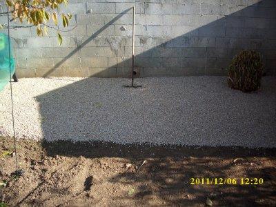 jardin 2 mise niveau du terrain tentage cr e entretien divers cerisier figuier pin. Black Bedroom Furniture Sets. Home Design Ideas