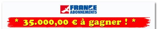 concours france abonnement