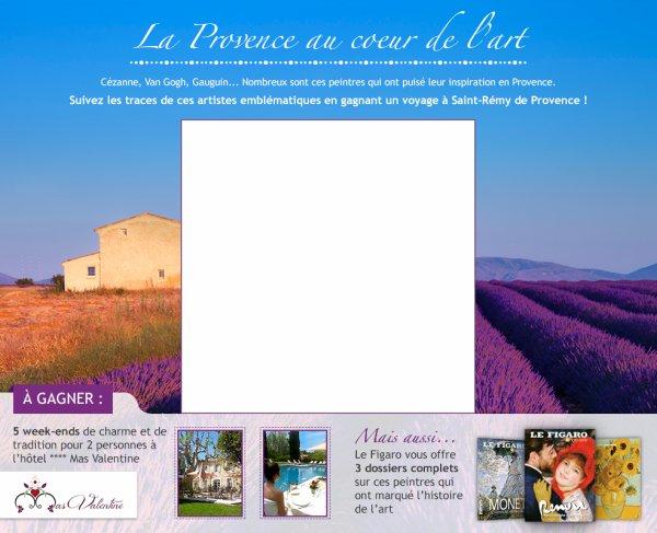concours figaro voyage a saint rémy de provence