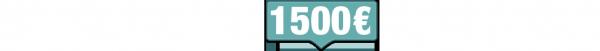 1500 euros de chèque a gagner