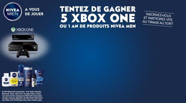 NIVEA concours xbox one