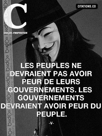 A la totalité du gouvernement français.: Démission de tous les politiciens corrompus!