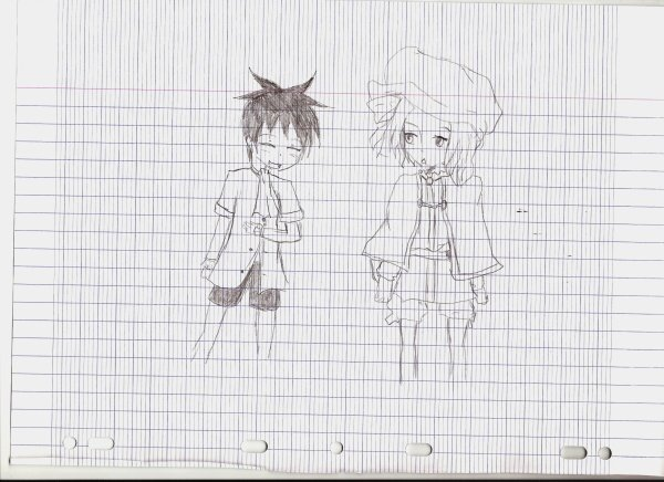 quelques dessins ^^'''
