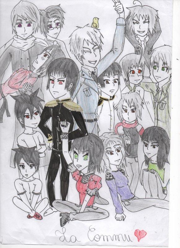 voila mon dessin de la commu^^ (by justine)