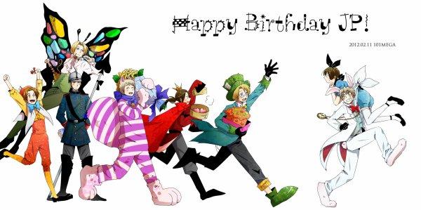 joyeux anniversaire kiku >w<!!!( By ju)