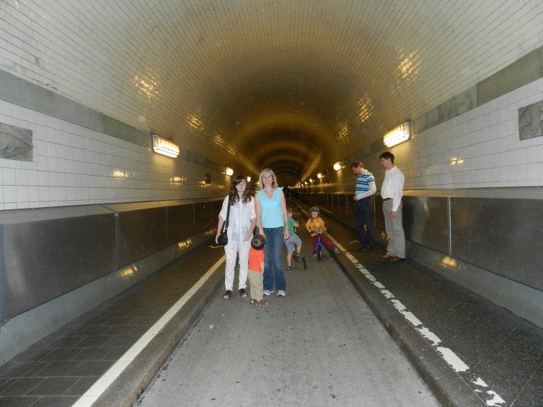 Voyage à Hamburg avec la famille