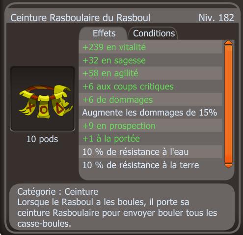 Ceinture Rasboulaire