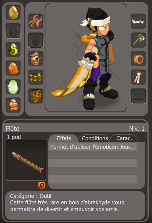 La flute de Xel-or
