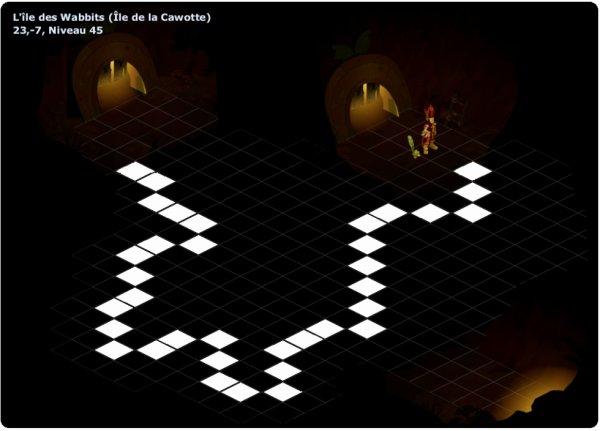Nouveau chemin map noire Wabbit