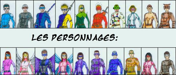 ...::Liste des personnages de la saison 1::...